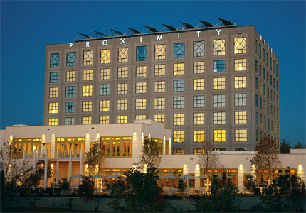 Proximity Hotel in Greensboro, North Carolina, one of GAYOT's Top Green Hotels in the U.S.