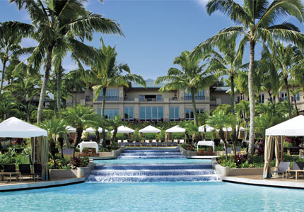 The Ritz Carlton Kapalua in Maui, Hawaii, one of GAYOT's Top 10 Hotels in Hawaii