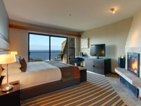 Renovated guest rooms at the Highlands Inn in Carmel, CA