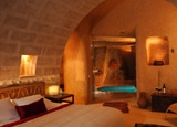 A unique subterranean pool suite at Argos in Cappadocia