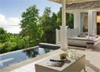A hillside pool villa at Banyan Tree Seychelles, one of GAYOT's Top 10 Honeymoon Hotels Worldwide