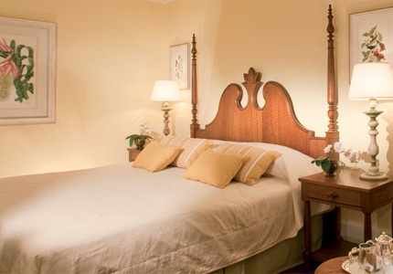 A guest room at Belmond Hotel das Cataratas, one of GAYOT's Top 10 Honeymoon Hotels Worldwide