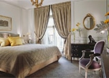 An elegant suite at Le Meurice in Paris, France