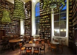 The Library Lounge at B2 Boutique Hotel + Spa in Zurich