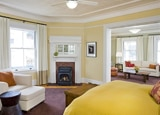 The interior of the Historic Suite at Cavallo Point - The Lodge at the Golden Gate, California