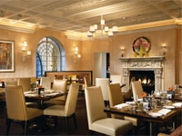 The dining room at The Mansion Restaurant at Rosewood Mansion on Turtle Creek, one of our Top 10 U.S. Hotel Restaurants