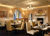 The dining room at The Mansion Restaurant at Rosewood Mansion on Turtle Creek
