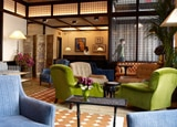 The lobby at The Greenwich Hotel, one of our Top 10 New Hotels in the U.S.