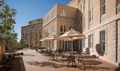 Hotel Parq Central in Albuquerque, New Mexico, one of our Top 10 New U.S. Hotels