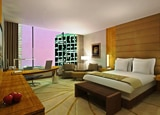 A luxury guest room at the JW Marriott Marquis Miami