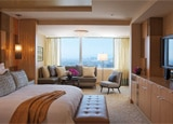 A suite at the Ritz-Carlton, Los Angeles