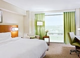 A guest room at the Westin Austin at the Domain