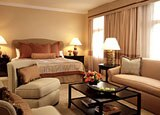 The Huntington Hotel is furnished with antiques, objets d'art and original paintings