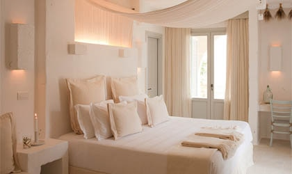 A room at Borgo Egnazia in Savelletri di Fasano, Italy, one of GAYOT's Top Hotels in Italy