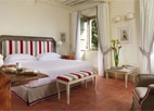 A guest room at Borgo San Felice in Siena, one of GAYOT's Top 10 Hotels in Italy