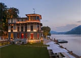 CastaDiva Resort & Spa is a full-scale resort worthy of Lake Como's glamorous image