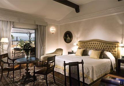 Belmond Villa Sant'Andrea in Sicily, Italy offers the ambience of an exclusive manor house