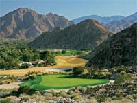 Mountain golf course of La Quinta Resort and Club in California