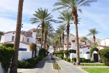 Bright days can always be found at La Quinta Resort & Club, one of GAYOT's best rated hotels in Palm Springs, CA