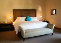 A spacious guest suite at Le Quartier Francais in South Africa