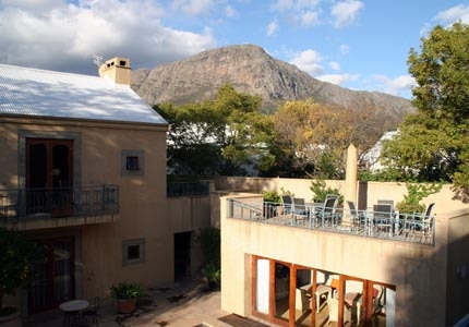 Le Quartier Francais in the South African Cape Winelands