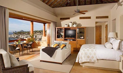 A room at Esperanza in Cabo San Lucas