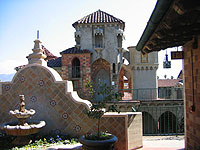 Eclectic styles come together at the Mission Inn Hotel & Spa in Riverside, California
