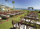 An oceanfront wedding at Montage Laguna Beach, one of GAYOT's Top 10 Wedding Hotels in Orange County, CA