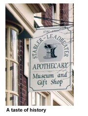 The Stabler-Leadbeater Apothecary Museum and Gift Shop