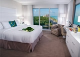 A guest room at B Ocean Fort Lauderdale