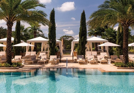 Four Seasons Orlando Resort at Walt Disney World Resort, one of GAYOT's Top 10 New U.S. Hotels