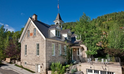 The Washington School House in Park City, Utah