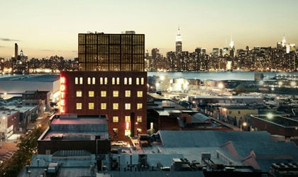 The Wythe Hotel in New York City, one of our Top 10 New U.S. Hotels