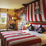 Legoland Hotel in Carlsbad, California, has 250 themed rooms!