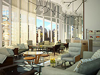 The Sky Lobby at The James New York