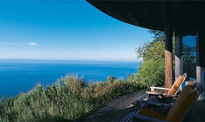 Pacific views from Post Ranch Inn in Big Sur, California