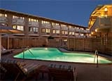 The pool at The Lodge at Tiburon in California