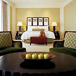 A guestroom at the Beverly Wilshire, a Four Seasons Hotel