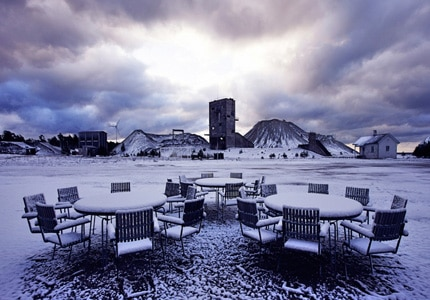 Fabriken Furillen on the rugged island of Gotland in Sweden, one of GAYOT's Top 10 Remote Hotels Worldwide