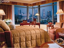 Room at Omni Hotel at CNN Center, Atlanta, GA