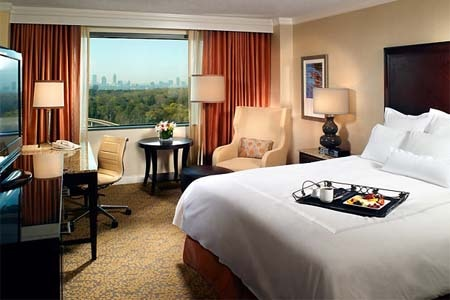 Room at JW Marriott Atlanta Buckhead, Atlanta, GA