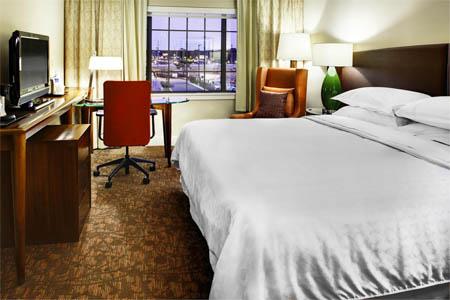 Room at Sheraton Augusta Hotel, Augusta, GA