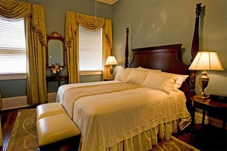 Room at The Marshall House, Savannah, GA