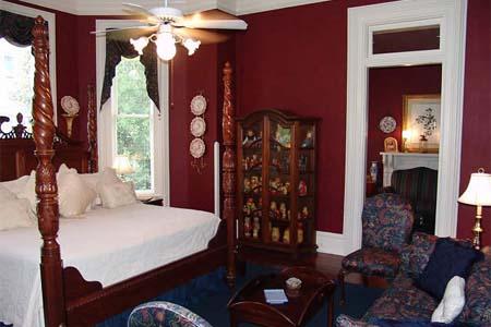 Room at 1884 Paxton House Inn, Thomasville, GA