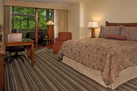 Room at Emory Conference Center Hotel, Atlanta, GA