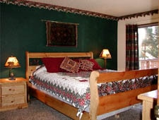 Room at Grey Squirrel Resort, Big Bear Lake, CA