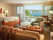 Room at Wequassett Resort and Golf Club, Chatham, MA