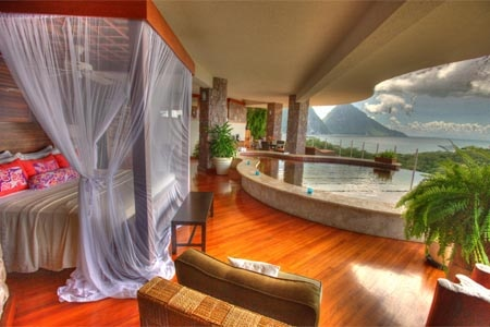 Room at Jade Mountain, St. Lucia, Soufriere, LC