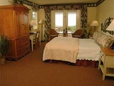 Room at Pelican Inn & Suites, Cambria, CA