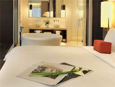 Room at Jumeirah Himalayas Hotel, Shanghai, CN